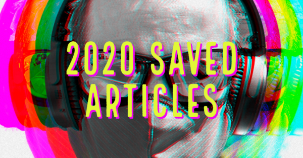 2020 Saved Articles
